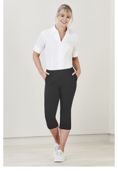 CL040LL Womens Jane 3/4 Length Stretch Pant