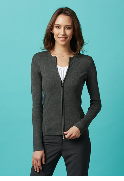 LC3505 Ladies 2-Way Zip Cardigan