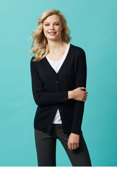 LC417L Ladies Milano Cardigan