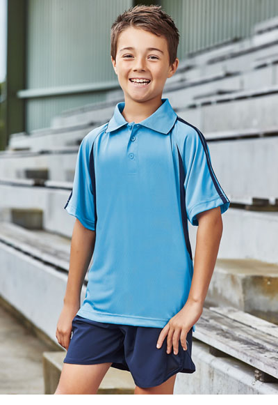 P3010B Kids Flash Polo