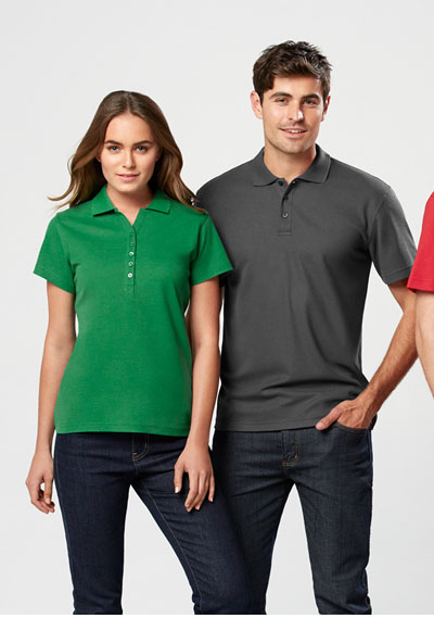 P400LS Ladies Crew Polo
