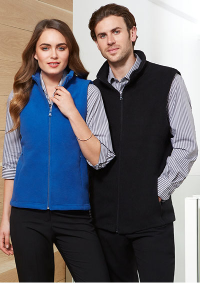 PF905 Ladies Plain Mircofleece Vest
