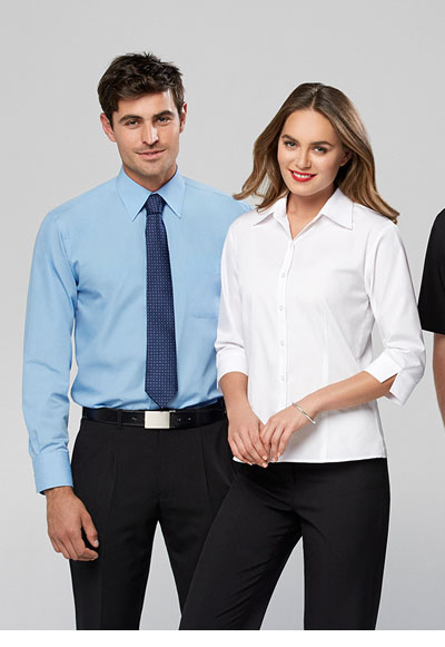 S10521 Ladies Base 3/4 Sleeve Shirt