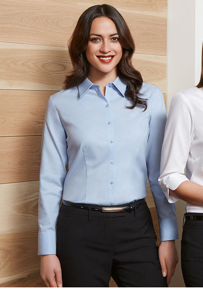 S118LL Ladies Luxe Long Sleeve Shirt