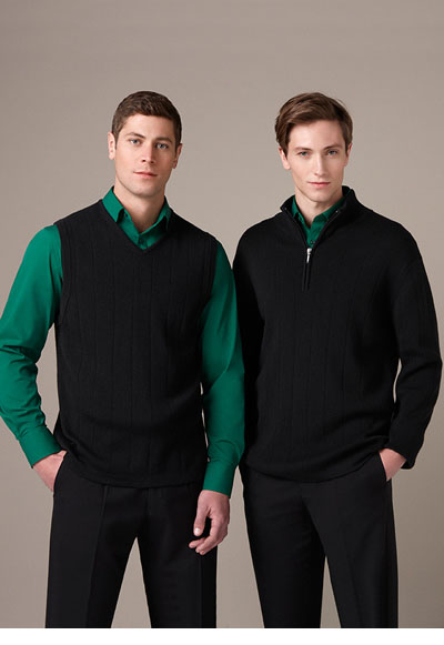 WV250MN Men\'s 80/20 Wool-Rich Vest