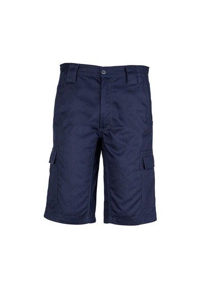 ZW012 Men\'s Drill Cargo Short